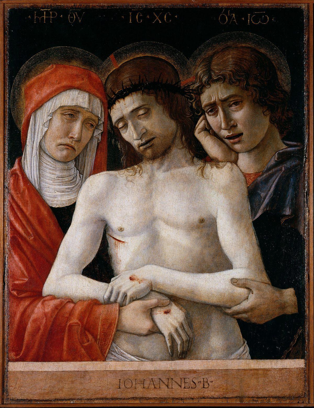 Giovanni Bellini, Pietà di Bergamo